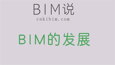 BIM的发展