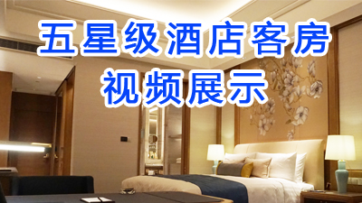 五星级酒店客房视频展示