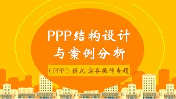 PPP结构设计与案例分析