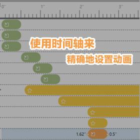 在专业版中利用时间轴来配置语音讲解